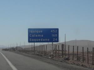 Iquique sign